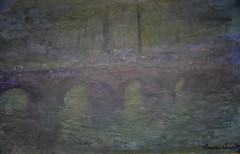 Claude Monet - Waterloo Bridge, London, at Dusk, 1904 at National Gallery of Art Washington DC (mbell1975) Tags: claude monet waterloo bridge london dusk 1904 national gallery art washington dc fine arts museum musee smithsonian impression impressionist impressionism french nga museumuseum museo musée muzeum museu müze m
