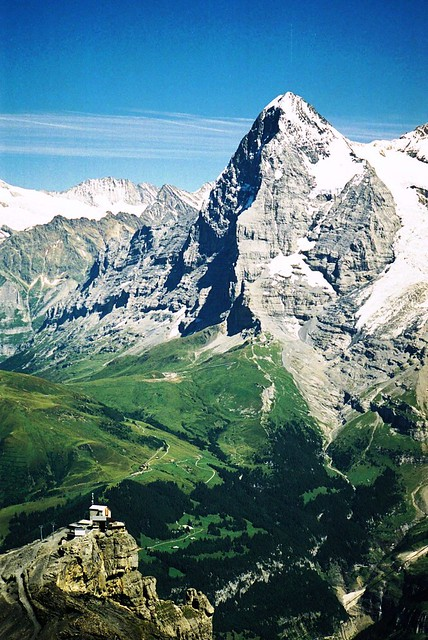 The Eiger & Birg Cable Car Station (Peter Keeble)