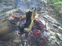 Afb018 (tommy_buffalo) Tags: burning wellies