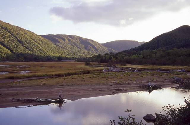 Glacier valley in CAPE BRETON