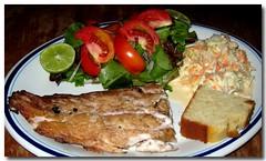 Smoked Fish Plate (danniepolley) Tags: food del fun photography living san juan photos images chow sur nicaragua diet retirement greattasting dancesarcom