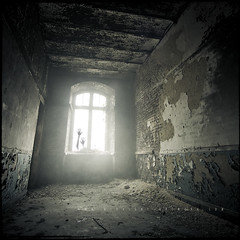 The Whisperer In Darkness (Midnight - Digital) Tags: light cinema abandoned window fog dark scary mood darkness decay room smoke fear foggy atmosphere creepy spooky urbanexploration lovecraft horror dread walls scared cinematic derelict ue urbex derelicted exploredwithmartinonl
