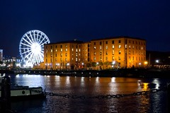Albert Dock and Liverpool Wheel