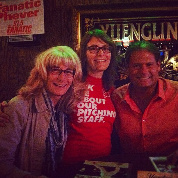 Me, mom, and Darren Daulton @ Toms #phillies