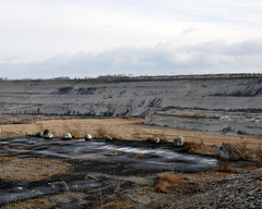(Levi Mandel (sea kay)) Tags: winter light beauty landscape fun nikon rocks sweden parking lot adventure limestone malm quarry deserted trespassing