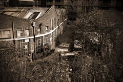 (jordi.martorell) Tags: uk urban london sepia geotagged nikon factory decay peanut derelict guesswherelondon 1855mmf3556g greenway eastlondon gwl fishisland guessedbyloopzilla nikond40 percydalton guessedbyrobbeer