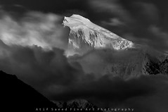 Spantik Peak 7027M.. (M Atif Saeed) Tags: pakistan mountain mountains nature landscape karakoram atifsaeed