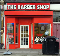 The Barbers, Woolwich Road SE10 (Emily Webber) Tags: london hair shops shopfronts se10 woolwichroad londnshopfronts