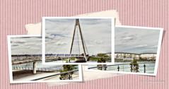 Marine Parade Bridge - Southport (Redoux) Tags: bridge sky photoshop landscape nikon tamron southport hdr marinelake 1024 leadinglines photomatix d7000 tamron1024