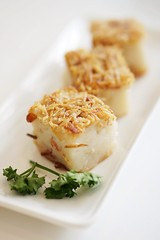 Steamed Yam Cake with Dried Shrimps (Ann&Ming) Tags: food singapore chinese yamcake vivocity tungloksignatures