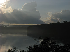 The Sun Breaks Through (icajoleu) Tags: sunshine weather centralafricanrepublic sanghalodge