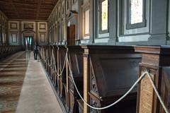 Sala de Lectura de la Biblioteca Medicea Laurenziana (Sarmale / OAyuso) Tags: europa italia florencia sanlorenzo bibliotecamedicealaurenziana saladelectura