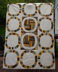 Single Girl Quilt top (LLfasrn) Tags: wedding quilt denyseschmidt weddingringquilt singlegirlquilt