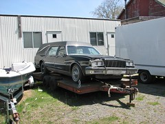 EARLY '80'S BUICK HEARSE (richie 59) Tags: trees usa cars car america outside us buick spring automobile gm unitedstates headlights grill vehicles chrome vehicle flattire newyorkstate headlight oldcar oldcars oldvehicles hearse automobiles stationwagon nystate americancars frontend generalmotors hudsonvalley grills blackcar americancar motorvehicles ulstercounty buicks motorvehicle 4door uscar uscars stationwagons midhudsonvalley 2013 fourdoor blackcars ulstercountyny oldstationwagon oldbuick gmcar gmcars oldstationwagons oldbuicks 2010s 1980scar buickstationwagon 1980scars townofulster richie59 april2013 townofulsterny buickhearse blackhearse americanstationwagon april282013