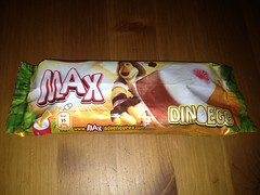 Langnese MAX mit Haribo Dinos (Like_the_Grand_Canyon) Tags: am sweet eis popsicle langnese stiel wassereis