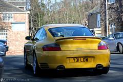 Banana (MJParker1804) Tags: yellow speed 911 turbo porsche 996