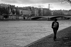 (Tom Plevnik) Tags: street city travel people urban blackandwhite paris public monochrome landscape photography nikon flickr outdoor candid places human bnw
