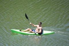 Boys on the Bayou (Omunene) Tags: shirtless pecs kayak nipples chest neworleans bayou rowing abs bayoustjohn
