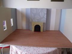 Playscale Living Room WIP 1 of 3 (suekulec) Tags: living room 16 diorama playscale