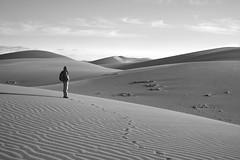 dunescapes (gerhard.haindl <on/off>) Tags: sky people blackandwhite monochrome clouds landscape geotagged mono sand noiretblanc outdoor dunes landschaft xf schwarzweis geo:lat=2774355584 geo:lon=1558384895 s0104148v1