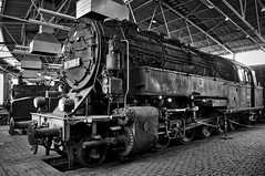 Eisenbahnmuseum Bochum-Dahlhausen Germany 10th May 2016 (loose_grip_99) Tags: railroad museum germany deutschland tank shed may engine rail railway hannover steam transportation depot locomotive bochum preservation roundhouse hanomag prussian drg 2016 t20 class95 dahlhausen gassteam 2102t