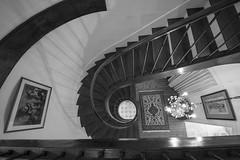 DSC_4463 BW (antoinebretonniere) Tags: nikon d600 sigma 1224 uga noir et blanc black white escalier stair