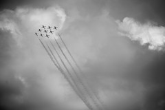 Air Show (backerharrison132) Tags: show blue light summer sky blackandwhite usa cloud white canada black texture nature glass monochrome beautiful metal clouds composition america plane airplane fun army photography interesting wings movement nikon marine fighter angle zoom action outdoor military smoke air navy jet perspective machine canadian aeroplane aerial steam mo adventure plastic demonstration angels missouri planes cannon rocket missile states thunderbirds airforce bomb majestic chemtrails capegirardeau snowbirds majesty lightroom 2016 55200mm skyhawks d3300