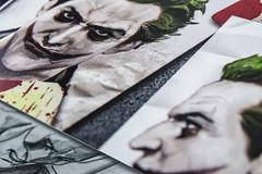 When I was a child...I loved to read comics #Batman #Comic #HMM #MacroMondays (nicoheinrich86) Tags: pictures macro closeup comics lesen child sony struktur hobby read kind batman joker graphicnovel past hmm bilder vergangenheit 2016 paperpattern macromondays hx400v