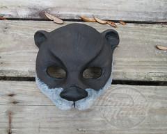 SeaOttermaskCr (Jennifer Stedman Art and Costume Masks) Tags: animal costume cosplay masks wildanimals masquerademask animalmasks
