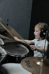 Abby-drumles-509 (leoval283) Tags: percussion abby nora lessons rockschool drummen fruitweg