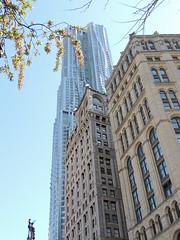 Downtown Manhattan - New York City - April 2016 (jeanyvesriou1) Tags: newyorkcity architecture skyscrapers downtownmanhattan gratteciel april2016
