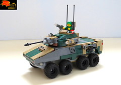 "8x8 ""Naga"" IFV (Enon) Tags: cold infantry war tank destroyer modular vehicle missile fighting armored afv ifv"