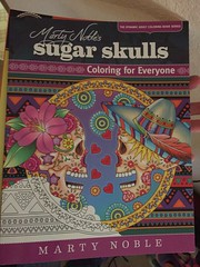 Sugar skull book (f l a m i n g o) Tags: book coloring 19265
