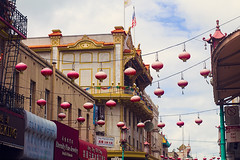ChinatownSTocktonlantern2 (lau7171) Tags: sanfrancisco street city urban streets colors colorful chinatown neighborhoods chineselanterns