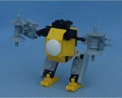 Bumblebee Purple (Mantis.King) Tags: lego scifi futuristic mecha wargames mech moc microscale legomecha mechaton mfz mf0 mobileframezero legogaming