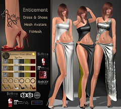 ***Arisaris~Gara42~Enticement~Ad Big (ArisAris & Armony - Ariadna Garrigus) Tags: life sexy leather promotion shirt promo shoes dress mesh market body silk skirt second satin sequins mules belleza mirrow maitreya slink peptoes ariadnagarrigus arisaris