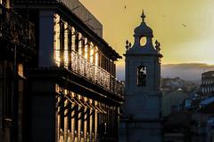 Lisbonne (jacqueschoeffel) Tags: canon eos 70d sunset efsis18135mmf3556 lisbonne lisbon portugal coucherdesoleil ville eglise church city reflet lumire