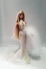 Diva Gone Platinum Barbie (Darwin Dizz) Tags: fur barbie gone hollywood mackie diva couture platinum haute