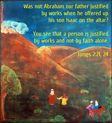 James 2:21, 24 (joshtinpowers) Tags: james bible scripture