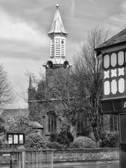 St Mary's Great Sankey (foggyray90) Tags: clock church warrington 4 ps steeple spire sankey stmarys parishchurch goldenball