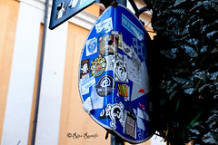 Roma. Trastevere. Street art-sticker art by Mr.Minimal, Standard574-K2m, Tadh, Fishes Invasion, Murphy (R come Rit@) Tags: italia italy roma rome ritarestifo photography streetphotography streetart arte art arteurbana streetartphotography urbanart urban wall walls wallart graffiti graff graffitiart muro muri streetartroma streetartrome romestreetart romastreetart graffitiroma graffitirome romegraffiti romeurbanart urbanartroma streetartitaly italystreetart contemporaryart sticker stickerart stickerbomb stickervandal slapart label labels signscommunication roadsign segnalistradali signposts trafficsignals mrminimal standard574k2m tadh fishesinvasion murphy trastevere rionetrastevere
