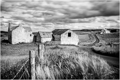 Harwood . (wayman2011) Tags: uk mono fences farms roads dales pennines lightroom countydurham longexposures harwood teesdale bwlandscapes canon50d bw110 rabyestate wayman2011