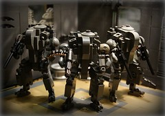 'Triplicity' S.M.A.R.T Mech's ([Stijn Oom]) Tags: lighting smart grey lego mech minigun mechas hardsuit seperate bley brickarms m1919