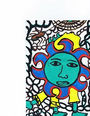 PAP-DAV-17 (moralfibersco) Tags: art latinamerica painting haiti gallery child fineart culture scan collection countries artists caribbean emerging voodoo creole developingcountries developing portauprince internationaldevelopment ayiti