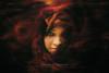 A dream within A dream (Shabbir Ferdous) Tags: red portrait people woman storm color colour art texture girl canon photography sand grain arts dream entertainment dhaka arabian bangladeshiphotographer shabbirferdous canoneos1dmarkiv wwwshabbirferdouscom shabbirferdouscom ef70200mm28lisiiusm