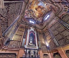 Skulls / Teschi (Fil.ippo) Tags: san bernardino ossa milano teschi cappella chapel chiesa church bone skull hdr d7000 filippo ossario ossuary abigfave flickrdiamond filippobianchi