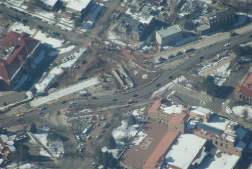 Photo - Aerial View of Broadway Construction (February 2012)