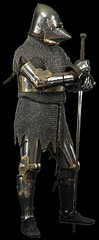 Armure mdivale (Archomed) Tags: metal armure plastron pe heaume cotedemaille gantelet jambire basmoyenage