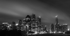When the Rain Stopped (Glenn Liam Kelly) Tags: city tourism skyline night photoshop canon river point photography eos mono high long exposure fineart pass brisbane kangaroo 7d brisvegas queensland nd8 nd4