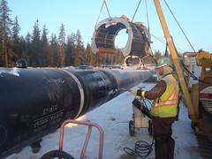 Pipeline (jasonwoodhead23) Tags: construction alberta pipeline oilfield